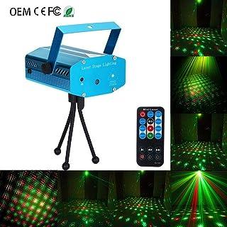 Disco Lights,LED Stage Light LED 3 Hole 18 Diagram Activation Scene Halloween For Lamp Home Bar Ktv zphy