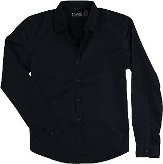 Edwards Women's Long Sleeve Button Down Cotton Twill Shirt