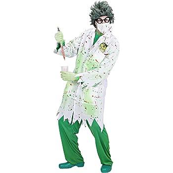 WIDMANN Widman - Disfraz de científico loco para hombre, talla L ...