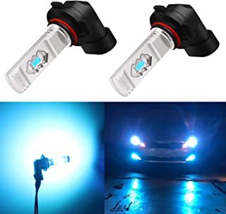 Alla Lighting 3600lm Xtreme Super Bright 9006 LED Bulbs 9006 Fog Light High Illumination ETI 56-SMD LED 9006 Bulb HB4 9006 Fog Lights Lamp Replacement - 8000K Ice Blue