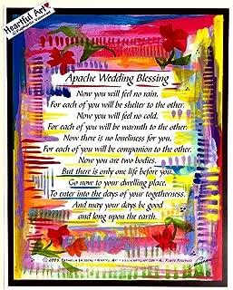 Apache Wedding Blessing 11x14 poster - Heartful Art by Raphaella Vaisseau