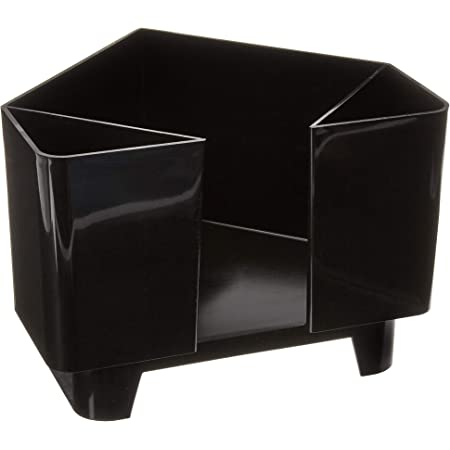 Co-Rect Plastic Bar Caddy with 6 Compartments Chrome