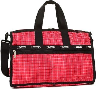 [レスポートサック] バッグ LESPORTSAC レディース 7184 D601 MIDIUM WEEKENDER ボストンバッグ TATTERSAL RED PRINT [並行輸入品]