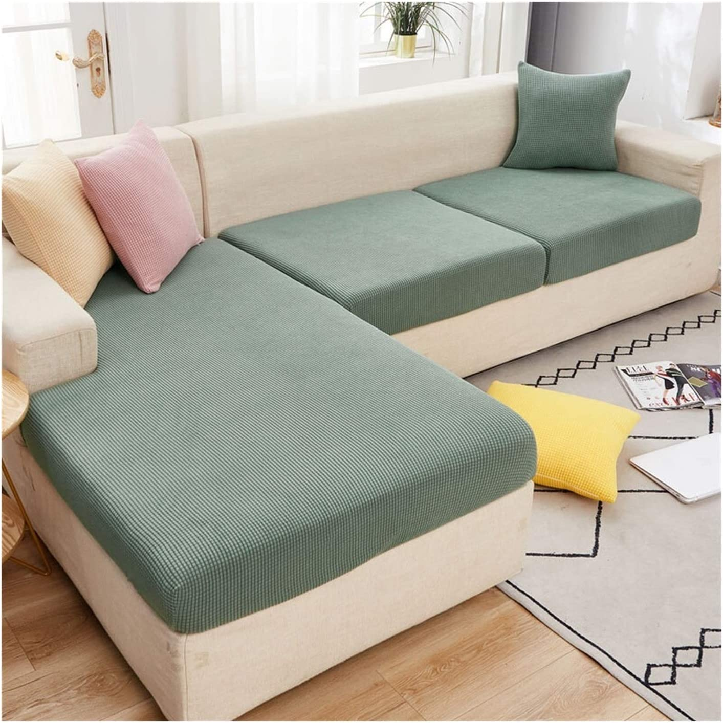JPMSB Sofa Seat Classic Cushion Cover Color Furniture Solid Special price Pro Elastic