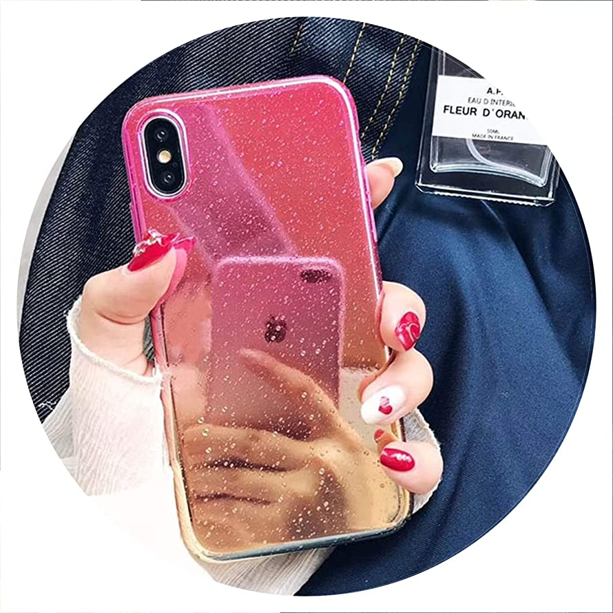 Phone Case for iPhone X XR XS Max 8 7 6 6s Plus Funny Water Drop Cover Colorful Gradient Rainbow Cases for iPhone X,Tch,for iPhone 7