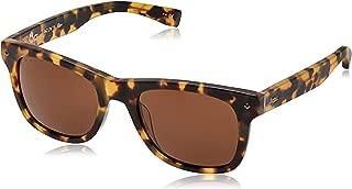 Lacoste Unisex L878s Plastic Rectangular 85° Anniversary L.12.12 Sunglasses, Tortoise, 52 mm