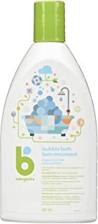 Babyganics Fragrance-Free Bubble Bath for Kids, Baby Bubble Bath Formula Made with Plant-Derived & Non-Allergenic Ingredie...