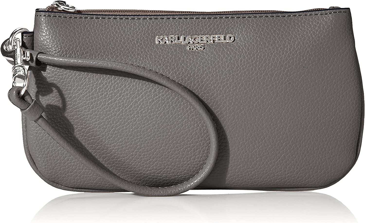 Karl specialty shop Lagerfeld High quality new Paris Wristlet Small Hermine