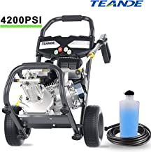 TEANDE 4200PSI Gas Pressure Washer 2.8GPM Power Washer 212CC Gas Pressure Washer Powered,..