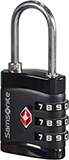 Samsonite Global Travel Accessories - Cadenas TSA à 3 chiffres, 7 cm, Noir (Black)