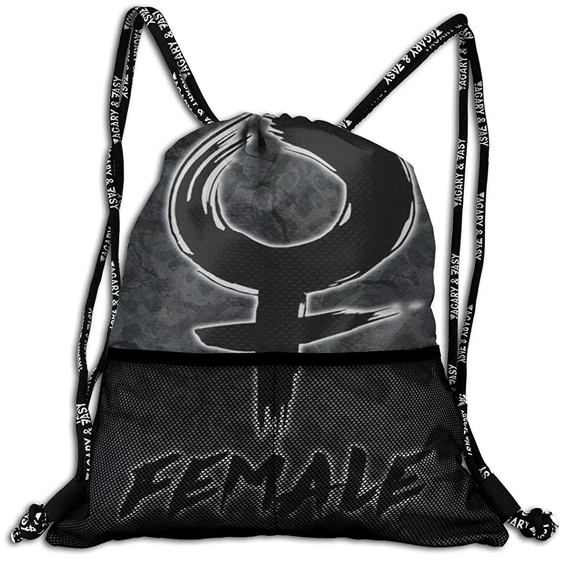 JOHNATHANGRIFFIN Keith Urban Drawstring Backpack Bag Mens Womens Sport Gym Sack