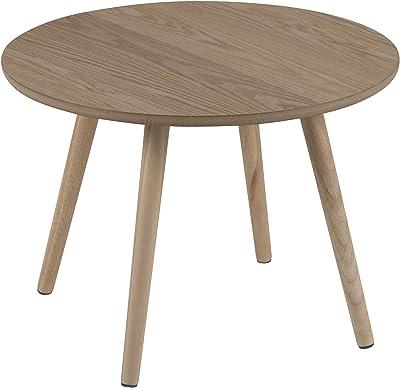 AC Design Steven Table d'angle en frêne Naturel 50 x 36 x 50 cm