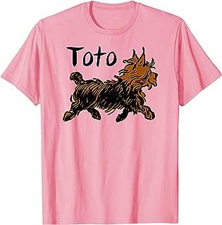 Pink Wizard of OZ Toto Shirt-Oz shirts for Girls & Women T-Shirt