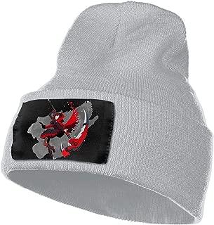 Evmjser RWBY Winter Warm Soft Fashion Knit Cap Beanie Hats for Mens Womens Black