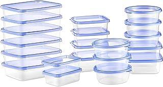 Deik Boîte Alimentaire, Lot de boîte de Conservation Alimentaire Plastique, 20 pièces, Convient pour Lave-Vaisselle allant...