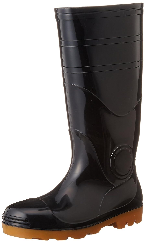 [オタフクテブクロ] おたふく 安全耐油長靴(鋼鉄芯入) #709 黒 28.0cm