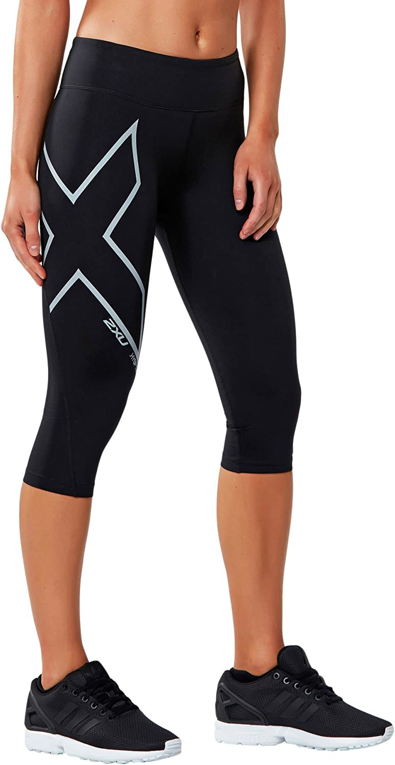 2XU Women's 3 4 Hyoptik Thermal Compression Tights