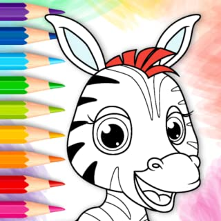 Picasso - Coloring book for kids - 50+ drawing pages to color