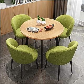 Mesa de comedor Juego de muebles Tabla moderno y Juego de sillas Cafetería Cocina Sala de estar moderna zona de ocio Biblioteca Cine Ice Cream Shop La negociación de negocios Cafetería ( Color : B )