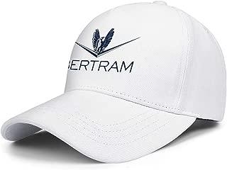 Gift Mens Baseball Caps Bertram-Capital-Logo- Dad Hats for Women Fit Cotton Adjustable Unisex Trucker Cap