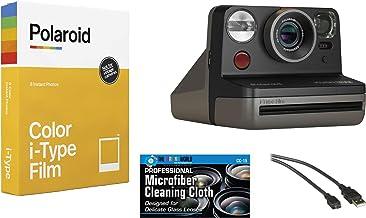 Polaroid Now Instant Film Camera (Star Wars - Mandalorian Edition) + Polaroid 6000 Film Bundle