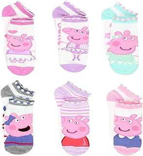 Toddler Socks 6 pairs (Shoe Size 4-7)