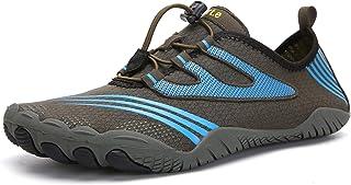 Qimaoo Blotevoetenschoenen voor dames en heren, waterschoenen, zwemschoenen, sneldrogend, ademend, antislip, aquaschoenen
