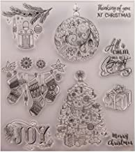 Haayward Christmas Gift Clear Stamp Cling Seal DIY Scrapbook Embossing Album Decor Craft