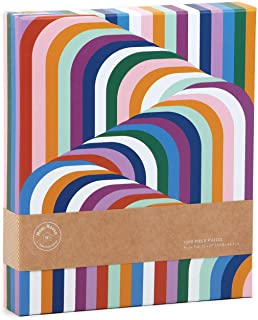 Galison Now House by Jonathan Adler Vertigo 1000 Piece Jigsaw Puzzle, Contemporary Abstract Art Puzzle with a Multitude of...