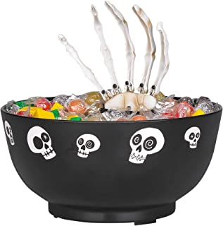 Home Depot Animated Skeleton Candy Bowl - Batteries Included - Moves and Says 7 Different Sayings!