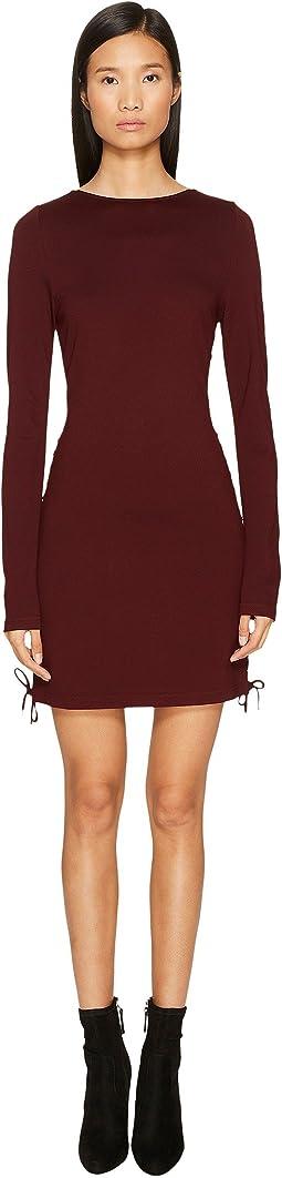 McQ - Eyelet Mini Dress