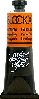 Blockx Pyrrolo Vermilion Oil Paint, 35ml Tube