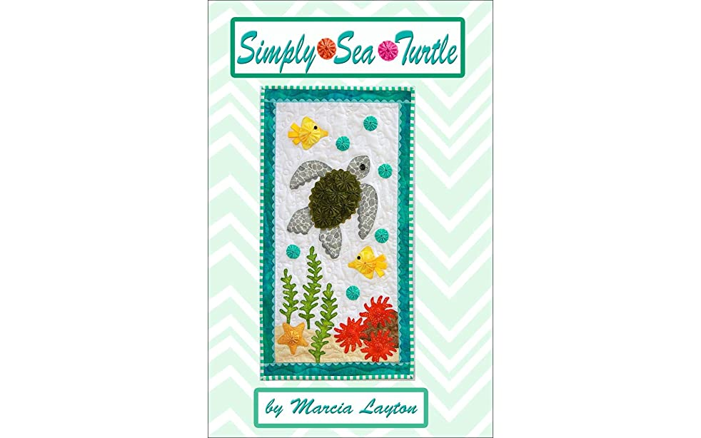 Marcia Layton Designs SS5 Simply Sea Turtle Pattern