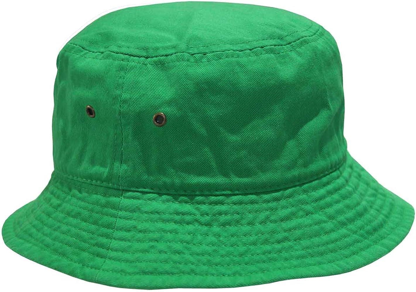 Short 2021 Brim Visor Cotton Free shipping Bucket Large Hat Kelly Sun X-Large