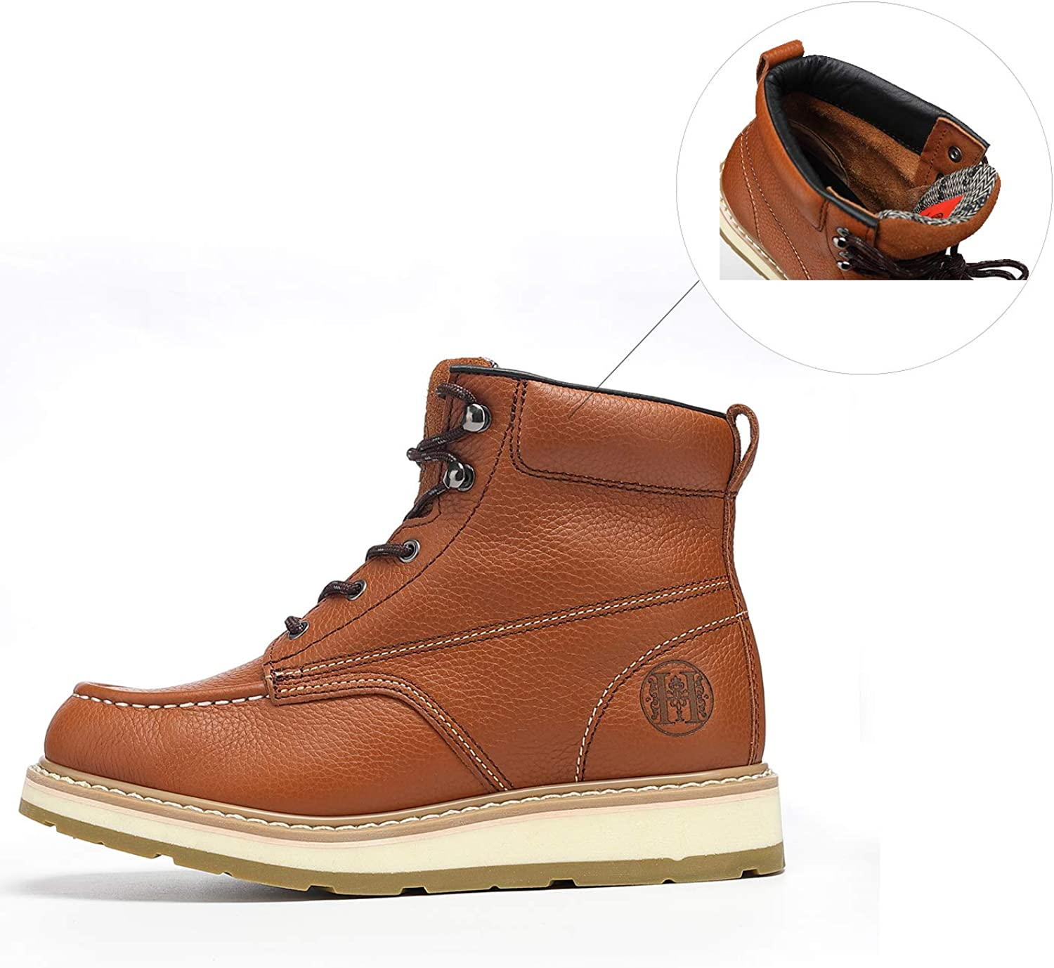 TIANXING Work Boots for Men 10.5 Safety Working Boots