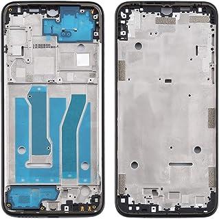 Mobile Phones Communication Accessories Front Housing LCD Frame Bezel Plate for Motorola Moto G8 Plus (Color : Black)