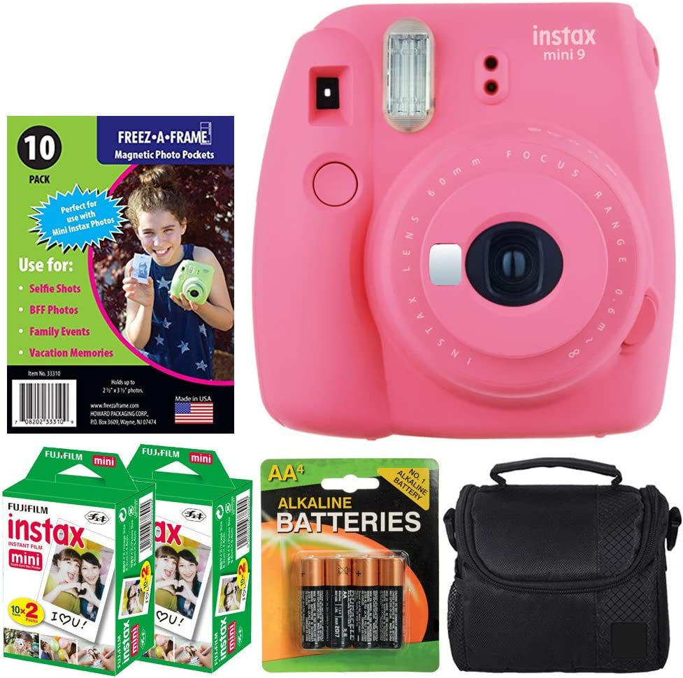 Colorado Springs Mall Fujifilm instax Mini Free shipping anywhere in the nation 9 Instant Film Pink Flamingo Camera Fre +