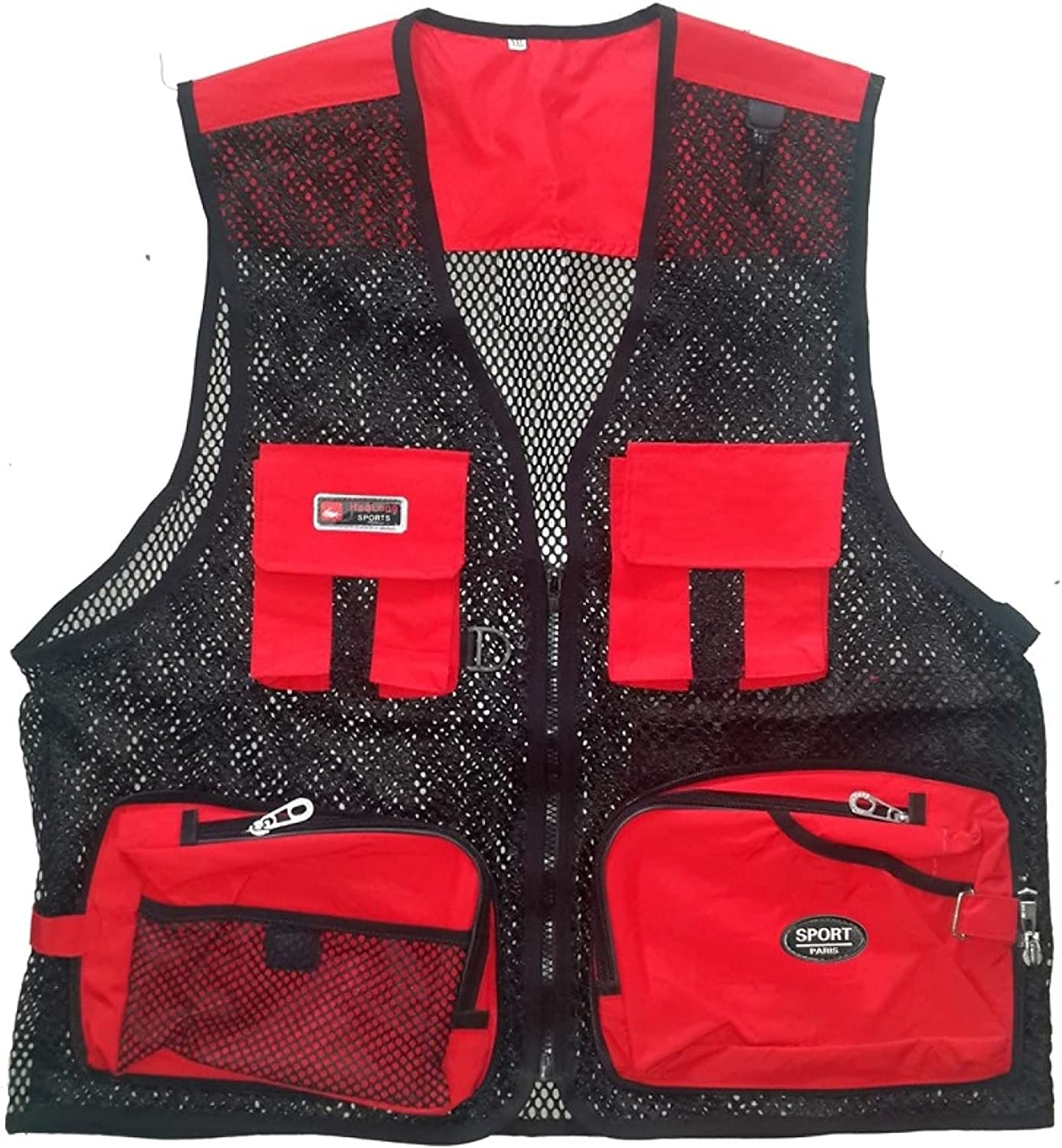 Breathable Fishing Max 80% OFF Vest Outerwear Casual Baltimore Mall Ph Mesh
