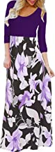 Best purple and white maxi dress Reviews