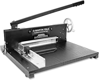 Martin Yale 7000E Paper Cutter, Commercial 200-Sheet Stack, 12