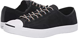 ca6baf5d9552 Converse jack purcell leather black white