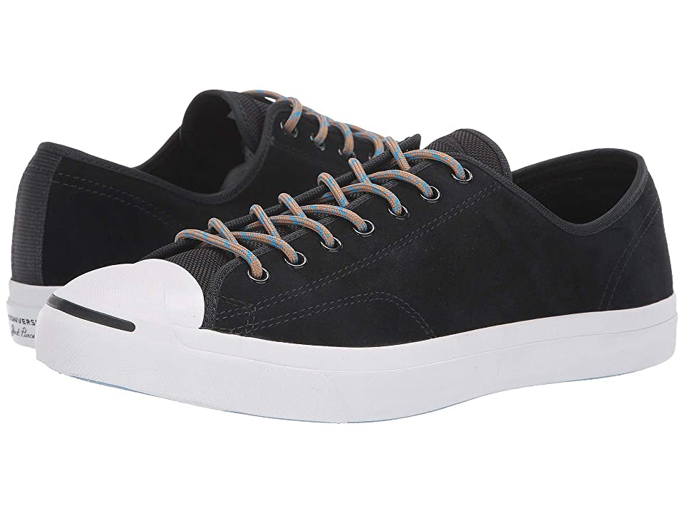 Converse Jack Purcell Jack Ox (Black/Blue Hero/Teak) Lace up casual Shoes