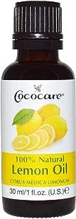 Cococare Cococare 100% Natural Lemon Oil, With Citrus Medica - 1 Oz, 1 Fl Oz