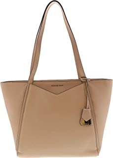 Women's Large Whitney Leather Top-Handle Bag Tote