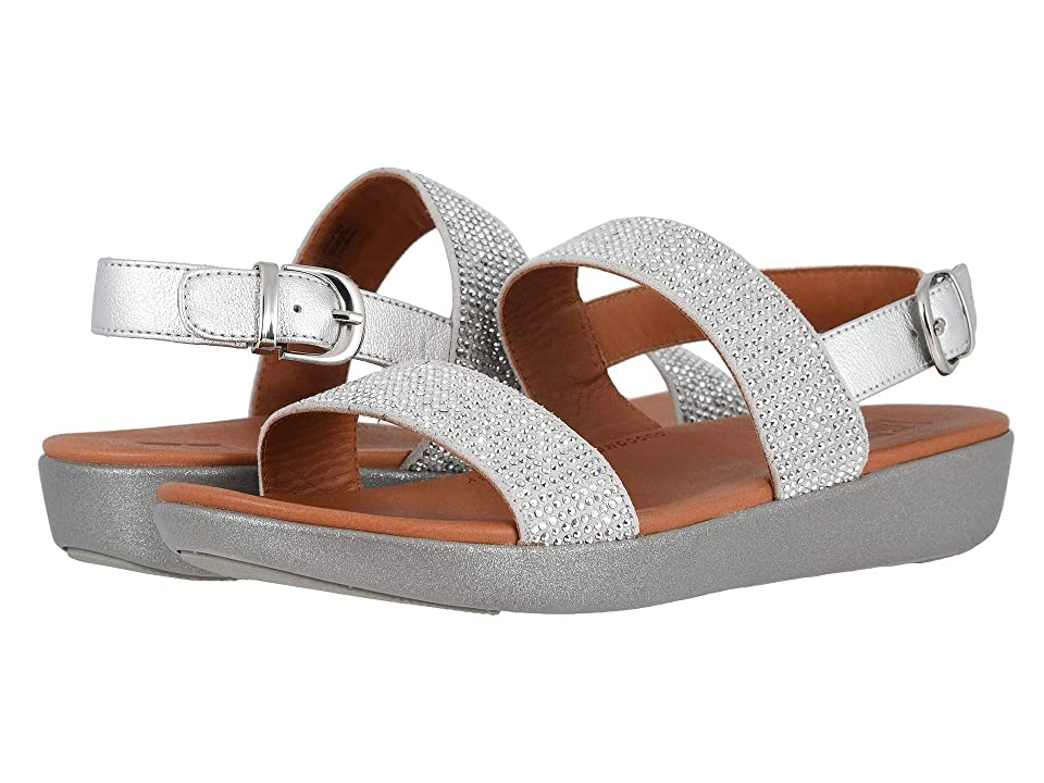 FitFlop Barra Crystalled (Silver) Women