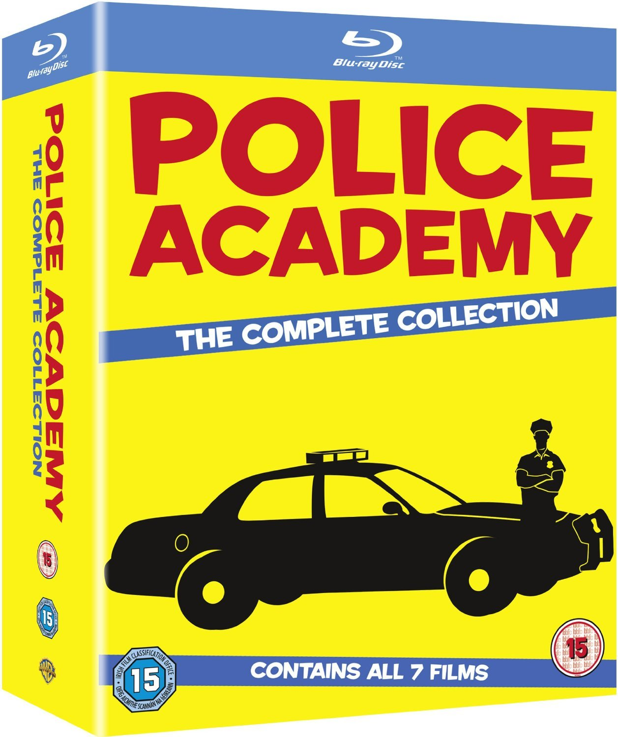 Police Academy 1-7 - The Set Complete Free Shipping Award New Collection Box Blu-ray
