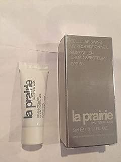 La Prairie Cellular SWISS UV Protection Veil 0.17 oz 5Ml SPF 50 Travel Sunscreen