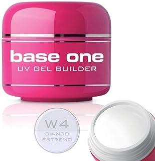 Silcare Base One Bianco Estremo W4 - Gel UV (5 g)