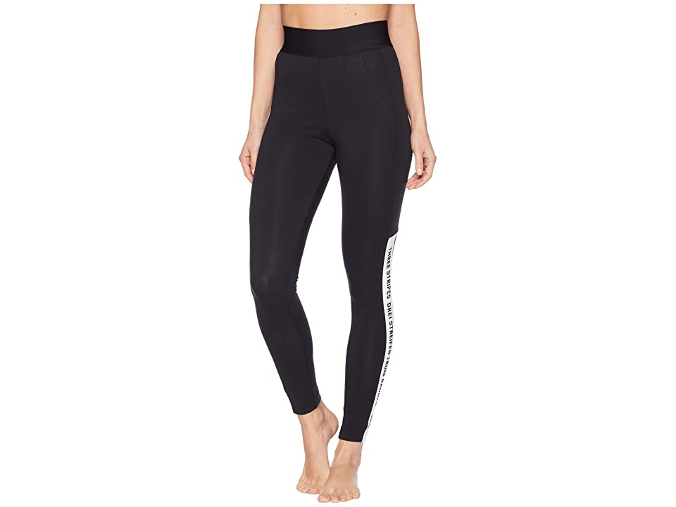 adidas Sport ID Tights (Black/Black/White) Women