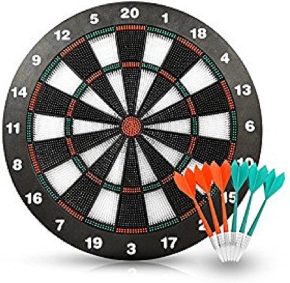 ForuMall Soft Tip Safety Darts and Dart Board - Great Games for